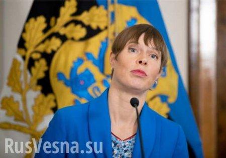Президент Эстонии ответила назаявления отерриториальных претензиях кРосс ...