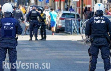 В Бельгии вспыхнули массовые беспорядки после гибели нарушителя карантина (ВИДЕО)