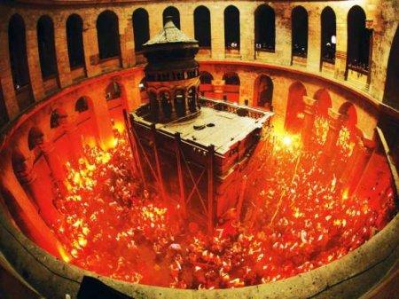 Схождение Благодатного огня в храме Гроба Господня — ПРЯМАЯ ТРАНСЛЯЦИЯ