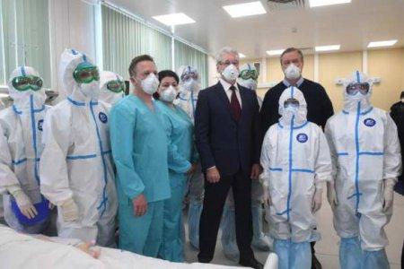 Возведённая за месяц «коронавирусная» больница в Новой Москве приняла первых пациентов