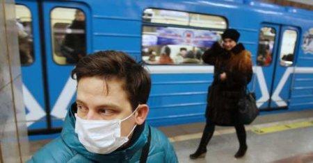 В Москве начали штрафовать за несоблюдение дистанции в общественном транспо ...