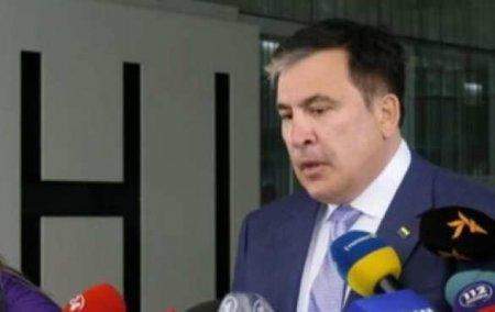 «Реформатор»Саакашвили выступил за мир с Россией и пришёл в Раду с перевёрнутым флагом Украины (ФОТО, ВИДЕО)