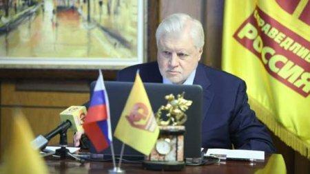 Для ДНР и ЛНР необходим особый статус в составе России, — Миронов