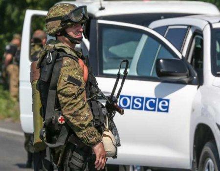 ВСУатаковали патруль ОБСЕ своздуха