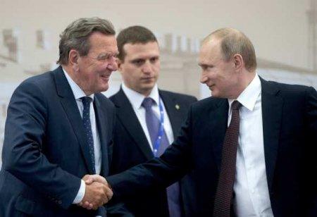 Экс-канцлер ФРГ Шрёдер: сегодня сохранять санкции и вводить новые — совершенно ошибочный путь