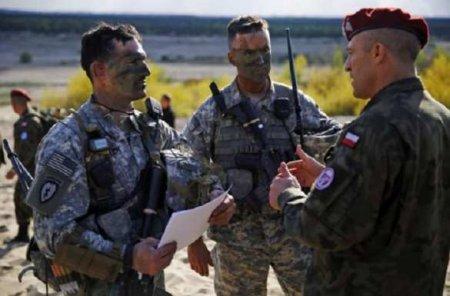 В Польше стартовали военные учения с участием США