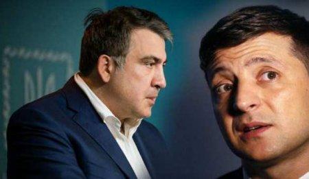 Внезапно: Саакашвили и Гордон обсуждают досрочную отставку Зеленского (ВИДЕО)