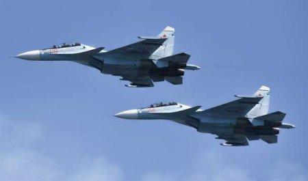 Российский истребитель перехватил самолёты-разведчики ВВС США над Чёрным морем