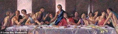 В британском соборе появилась картина с темнокожим Христом (ФОТО)