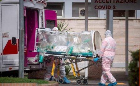 ВИталии резко выросла смертность больных скоронавирусом