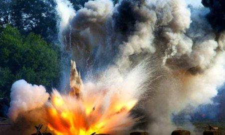 Кадры удара: Армия Азербайджана уничтожила полевой штаб ВСАрмении (ВИДЕО)