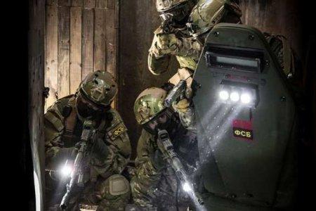 СРОЧНО: Спецназ ФСБвступил вбойстеррористами ИГИЛ вКБР(ВИДЕО)