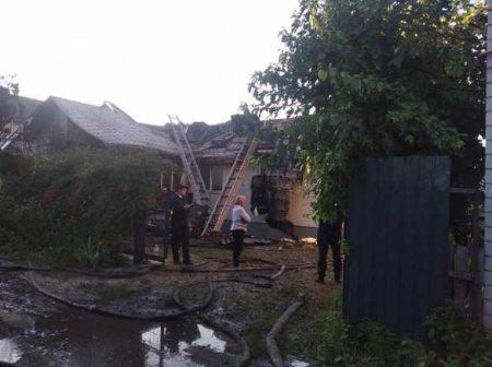 В Киеве сожгли дом местного активиста (ФОТО)