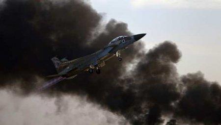Авиация Израиля нанесла удар по Сирии