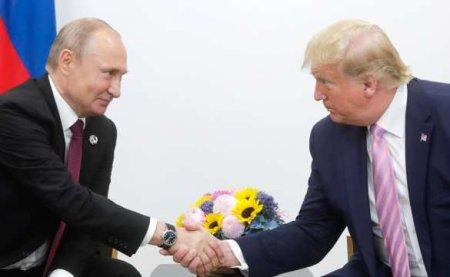 Трамп заявил о«продуктивных переговорах» сПутиным