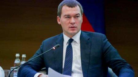 Дегтярев рассказал о ножах и топоре на митингах в Хабаровске