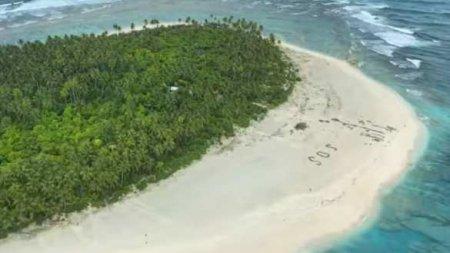 Пропавших моряков нашли нанеобитаемом острове по надписи SOS напеске (ФОТО, ВИДЕО)