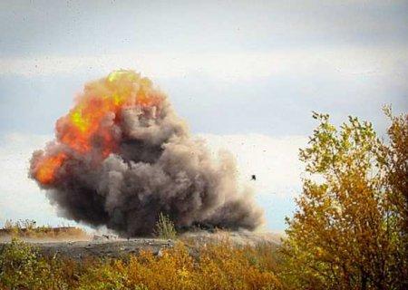 Напозициях 25-й бригады ВСУпрогремел взрыв: кадры подрыва карателей (ФОТО ...