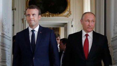 Белорусский кризис: Путин предостерёг Макрона
