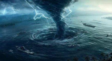 Тропический торнадо пронёсся по западному побережью Крыма (ВИДЕО)