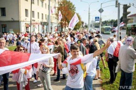 Белоруссия будущего: лица «мирного» протеста (ВИДЕО)