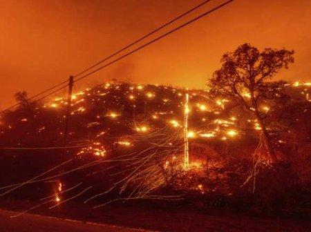 Сильнейшие пожары в Калифорнии: самое страшное ещё впереди (ФОТО, ВИДЕО)