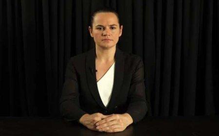 Тихановская записала обращение к россиянам (ВИДЕО)
