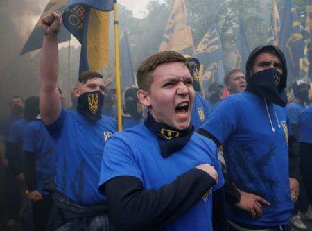 Нацисты пришли к Зеленскому (ФОТО, ВИДЕО)