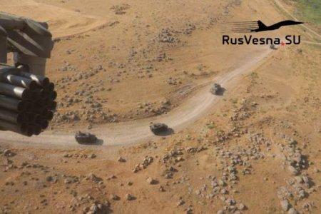 Бронетехника и вертолёты армии России выдвинулись в район объектов армии США в Сирии (ФОТО, ВИДЕО)