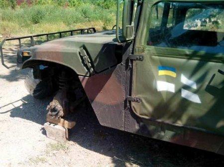 Неутешительные приключения «Хаммеров» на Донбассе: сводка