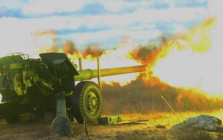 ВС Азербайджана наносят удары по Степанакерту (ВИДЕО)