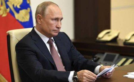 Путин высказался о возврате школьников «на удалёнку» (ВИДЕО)