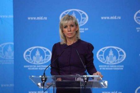«Пусть онитеперь доказывают свою надёжность»: Захарова высказалась овозможном прекращении диалога сЕС