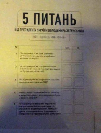 «Огласите весь список»: названы все 5 вопросов Зеленского к украинцам