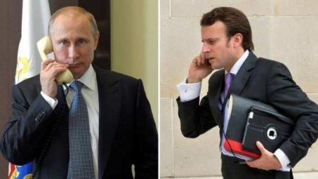 Макрон позвонил Путину, чтобы обсудить Карабах