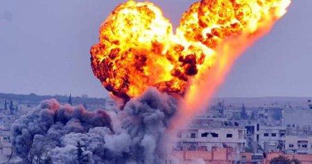 СРОЧНО: ВКС РФ устроили бойню в Сирии, бомбы влетели в толпу на вражеском о ...