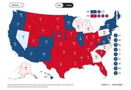 Выборы президента США: первые итоги (+ВИДЕО, ФОТО)