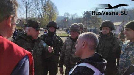 Русские «Тигры» в Карабахе обеспечивают безопасность Лачинского коридора (ФОТО, ВИДЕО)