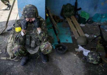 Украинские матросы разбились на угнанном автомобиле: сводка с Донбасса