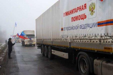 Спасибо, братская Россия! — жители ЛНРвстретили юбилейный гумконвой МЧСРоссии (ФОТО)