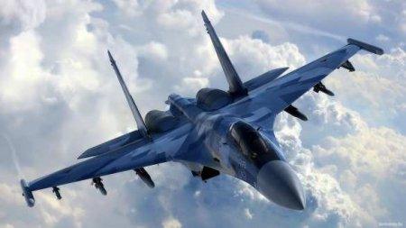 Су-27не дал американскому самолёту нарушить российскую границу надЧёрным морем