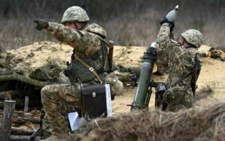 На Донбассе обнаружено скопление тяжёлой техники, ВСУ бьют по всем направлениям