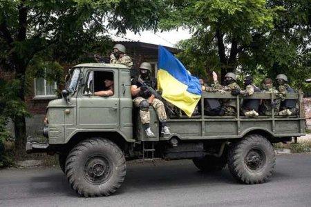 Грузовик ВСУ перевернулся на западе Украины (ФОТО, ВИДЕО)