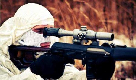 НаДонбассе снайпер уничтожил украинского оккупанта