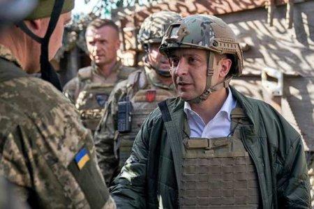 Зеленский привёз на Донбасс послов «Большой семёрки»