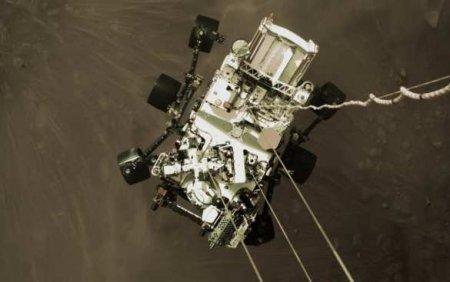NASA показало посадку аппарата Perseverance наМарс (ВИДЕО)