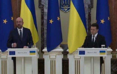 Зеленский пожаловалсяпрезиденту Евросовета на «четвёртый мощный удар» России