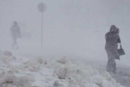 Чукотка оказалась под ударом мощнейшего циклона, отрезавшего её от мира (ФОТО, ВИДЕО)