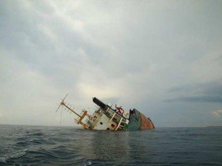 Российский сухогруз затонул в Чёрном море