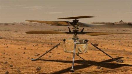 В NASA рассказали о первом полёте вертолёта Ingenuity на Марсе